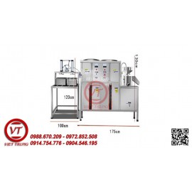 Bộ Dây Chuyền SX Đậu Phụ Liên Hoàn YC-300(Khí nén)(VT-DCLD09)