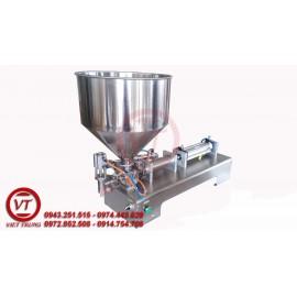 Máy chiết rót 1 vòi nén khí dạng đặc 100 - 1000ml (VT-CR10)