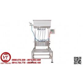 Máy chiết rót dung dịch sệt 4 vòi bán tự động (VT-CR26)