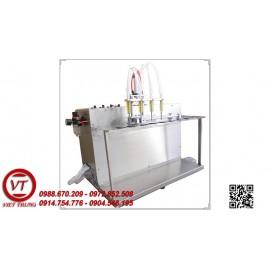 Máy chiết rót dung dịch lỏng 4 vòi bán tự động (VT-CR27)