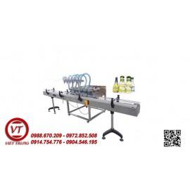 Máy chiết rót dung dịch lỏng 6 vòi tự động(VT-CR34)