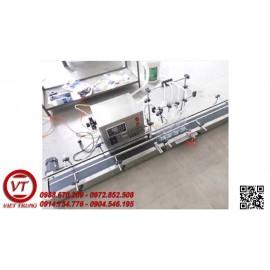 Máy chiết rót dung dịch lỏng 4 vòi 100-500 ml (VT-CR35)