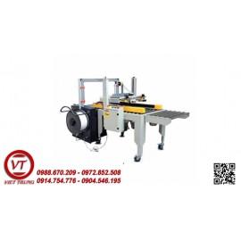 Dây chuyền dán + đai thùng Carton tự động(VT-DBD08)