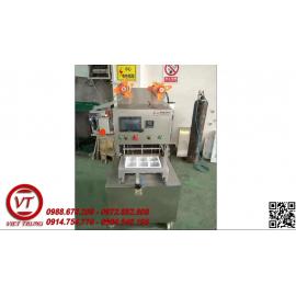 Máy dán miệng hộp tự động & thổi khí có indate KIS680-1 (VT-DC19)