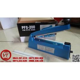 Máy hàn miệng túi dập tay PFS 200 vỏ nhựa (VT-HT01)