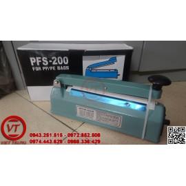Máy hàn miệng túi dập tay PFS-200 vỏ thép (VT-HT08)