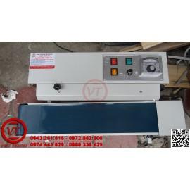 Máy hàn miệng túi liên tục DBF-900 sơn dạng nằm (VT-HT30)