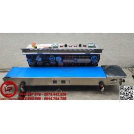 Máy hàn miệng túi có in date FRM-980 dạng nằm (VT-HT34)