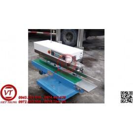 Máy hàn miệng túi liên tục DBF-1100V có in date (VT-HT48)