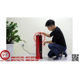 Quạt sưởi gốm Ceramic FujiE CH-1600 Màu đỏ + đen (VT-MS26)