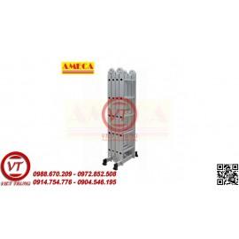 THANG GẤP ĐA NĂNG AMECA 4 ĐOẠN AMC-M204 (VT-TNM29)