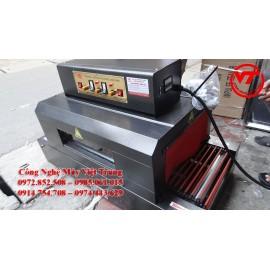 Máy co màng 330x150 băng tải đũa (VT-CM01)
