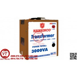Máy Biến Thế 1 Pha HANSINCO 3000VA(VT-MBT02)