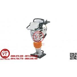 Máy đầm cóc chạy xăng HCR100 chân tròn (VT-MDC05)