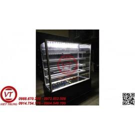 Tủ trưng bày bánh kem kính phẳng 5 tầng 1.8m (VT-TTB04)