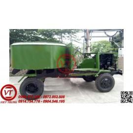 Xe trộn bê tông 12 bao động cơ ô tô (VT-MTBT37)