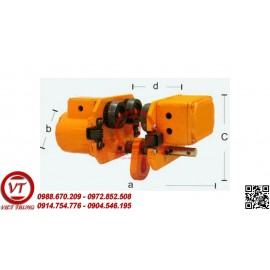 Cụm di chuyển pa lăng xích điện KIO 1000kg (VT-PL282)