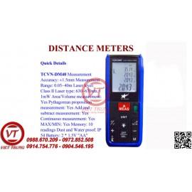 Máy đo khoảng cách laser TCVN-DM40 (VT-MDKC23)