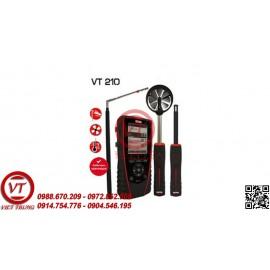 Máy đo tốc độ gió, lưu lượng gió KIMO VT 210 nhiệt độ, độ ẩm (VT-MDTDG12)